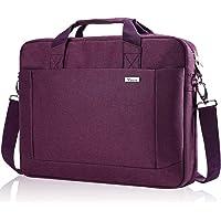 Voova Laptop Bag 15.6 15 14 Inch Briefcase, Expandable Computer Shoulder Messenger Bag Waterproof Carrying Case Handbag…