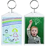 """Acrylic Photo Snap-In Keychain - 25 Pack (2"""" x 3"""")"""