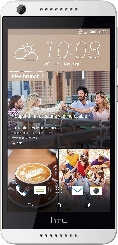 "HTC Desire 626 16GB Unlocked GSM 4G LTE 5"" HD Display Quad-Core Android Smartphone w/ 8MP Camera - Marine White"