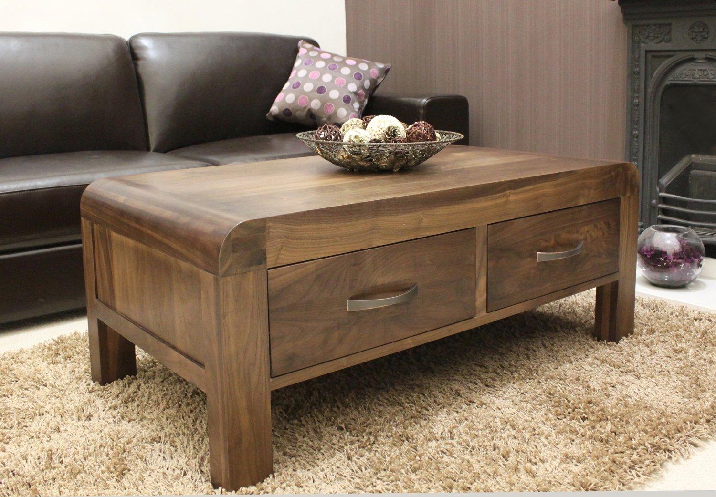 Walnut Coffee Table Walnut Brown Wood Brewston Coffee Table World