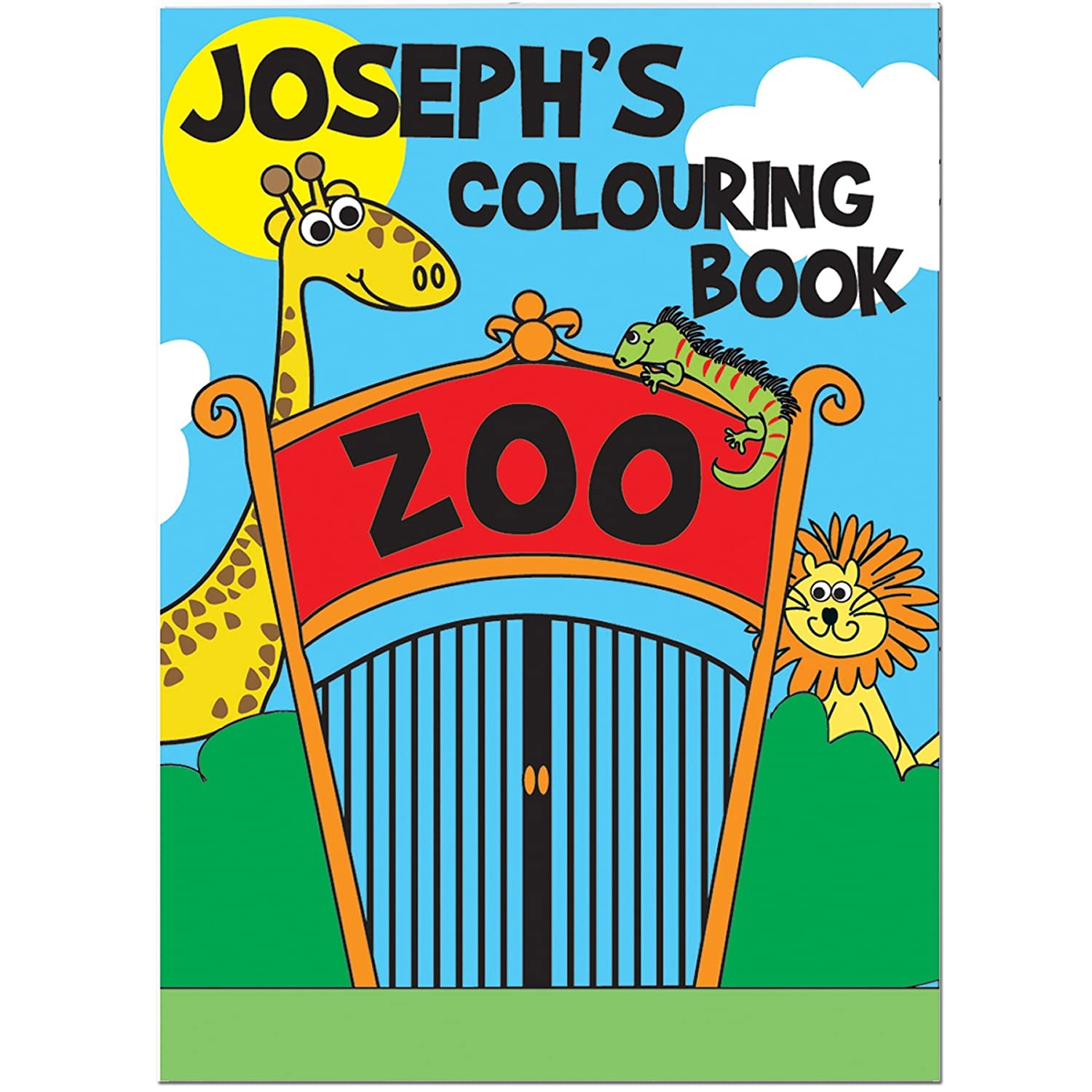Personalised Colouring Books - Zoo B007I01TZ0 |