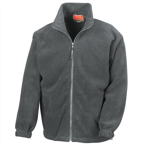 Ergebnis durchgehendem Reißverschluss Active Fleece XS,Grau - Oxford grey