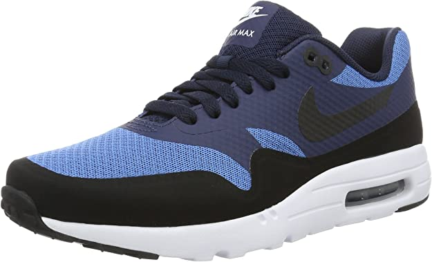 Nike Air MAX 1 Ultra Essential, Zapatillas de Running para Hombre, Azul (Star Blue/Black Obsidian White), 39 EU: Amazon.es: Zapatos y complementos