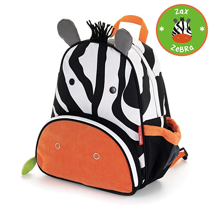 Amazon.com: Mochila para niño Zoo de Skip Hop. Modelo zebra ...