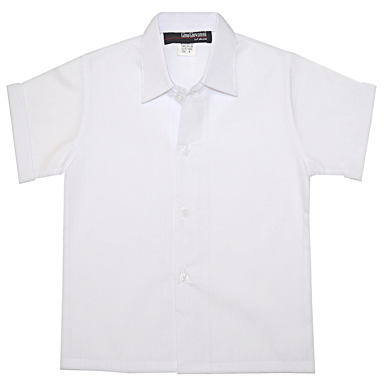 Gino Giovanni Boys Short Sleeves Dress Shirt