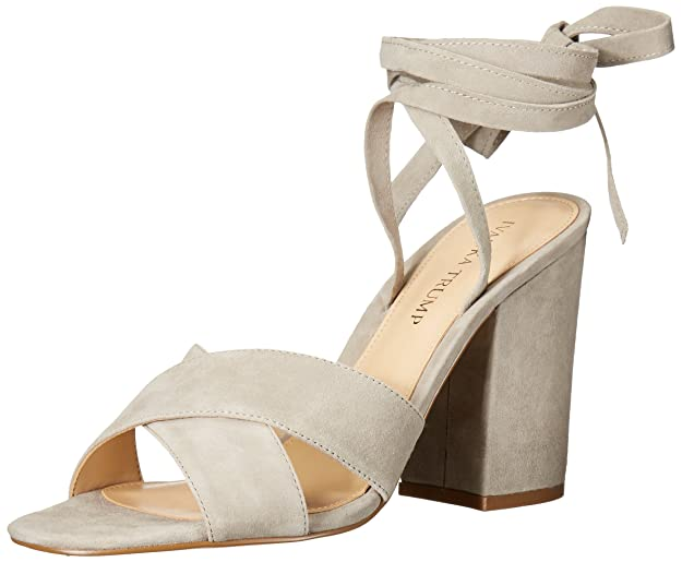 Ivanka Trump Women's Kuriel Dress Sandal, Taupe, 10 M US