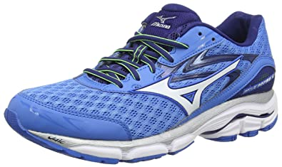 5ba599f27cec Mizuno Men's Wave Inspire 12 Running Shoes, (French White/Twilight Blue),