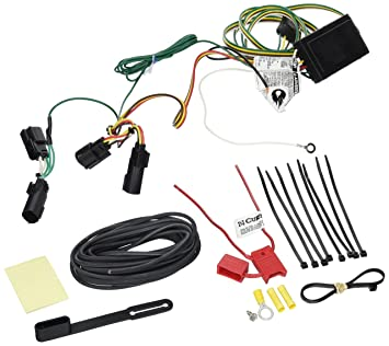 81np4yh8dBL._SX355_ amazon com curt 56164 custom wiring harness automotive  at gsmx.co