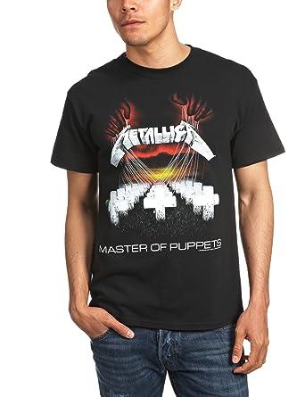 cbe2f1406 Bravado Metallica - Master Of Puppets - Mens T-shirt Black: Amazon ...