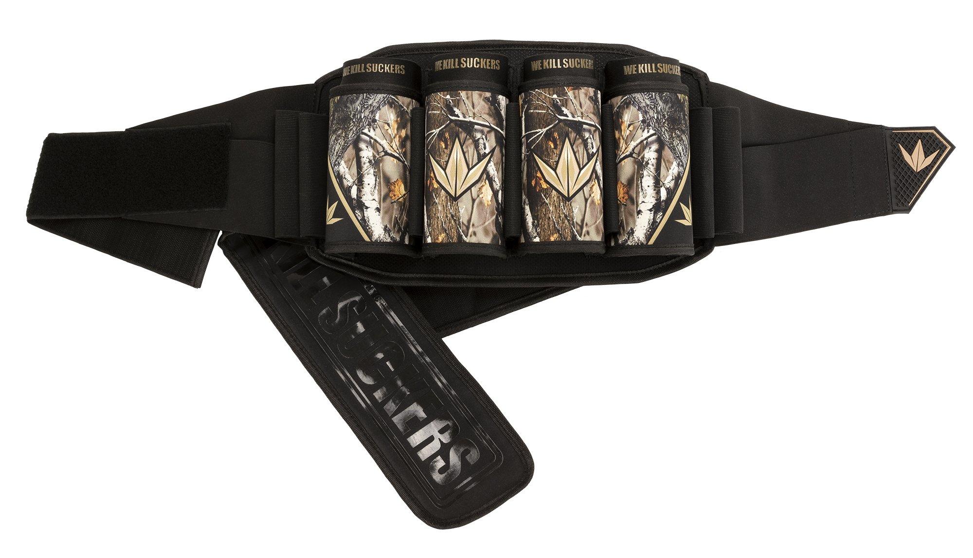 Bunker Kings V5 Supreme Pack Strapless Paintball Harness Pod Pack - 4+7 WKS Sherwood Camo by Bnkr Kings