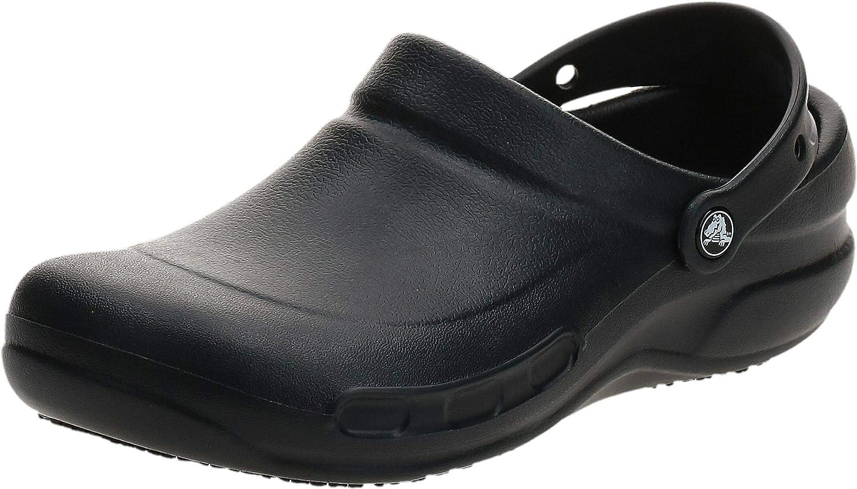 crocs Clog mit Fersenriemen Bistro Pro Clog Schwarz Croslite Normal Unisex
