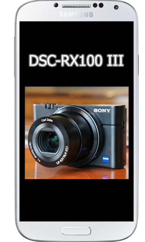 Amazon com: DSC-RX100 III Tutorial: Appstore for Android