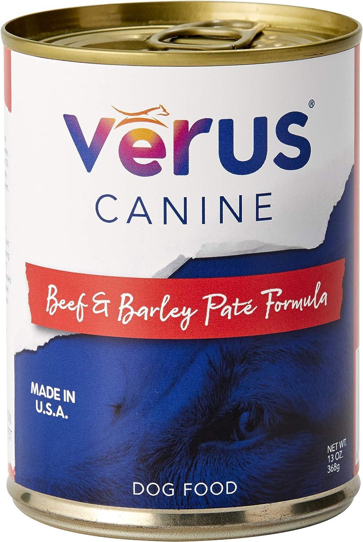 VeRUS Beef and Barley Formula Canned Dog Food
