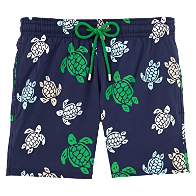 d88c74e8bf Vilebrequin Multicolor Turtles Superflex Swim Shorts - Men - XXXL - Navy  Blue: Amazon.co.uk: Clothing