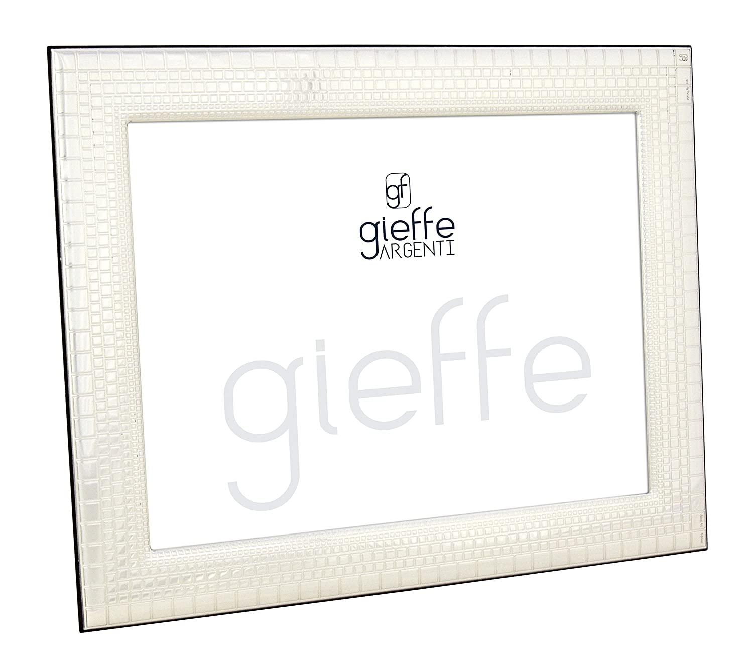 Boteghe - Real Made in Italy FIRENZE Marco para Foto Imagen Portarretrato Plata Made in Italy Hecho Mano Foto 18x24cm: Amazon.es: Hogar