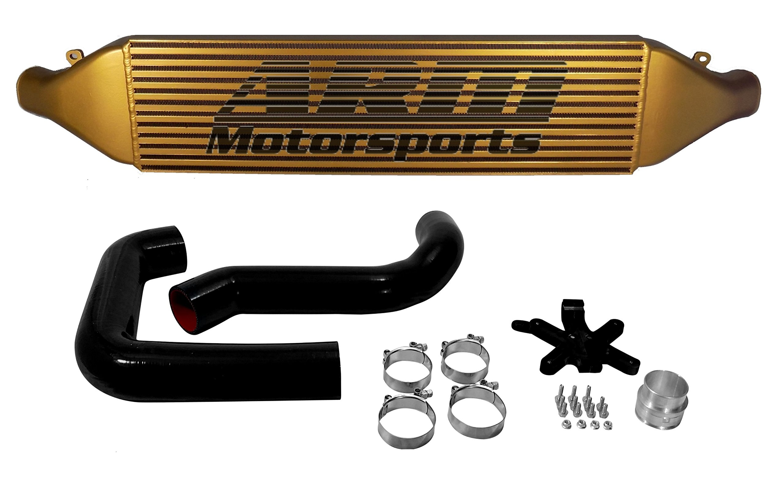 ARM Motorsports MK6-FMIC VW MK6 GTI / GOLF R Front Mount Intercooler Kit -TROPHY GOLD by ARM Motorsports