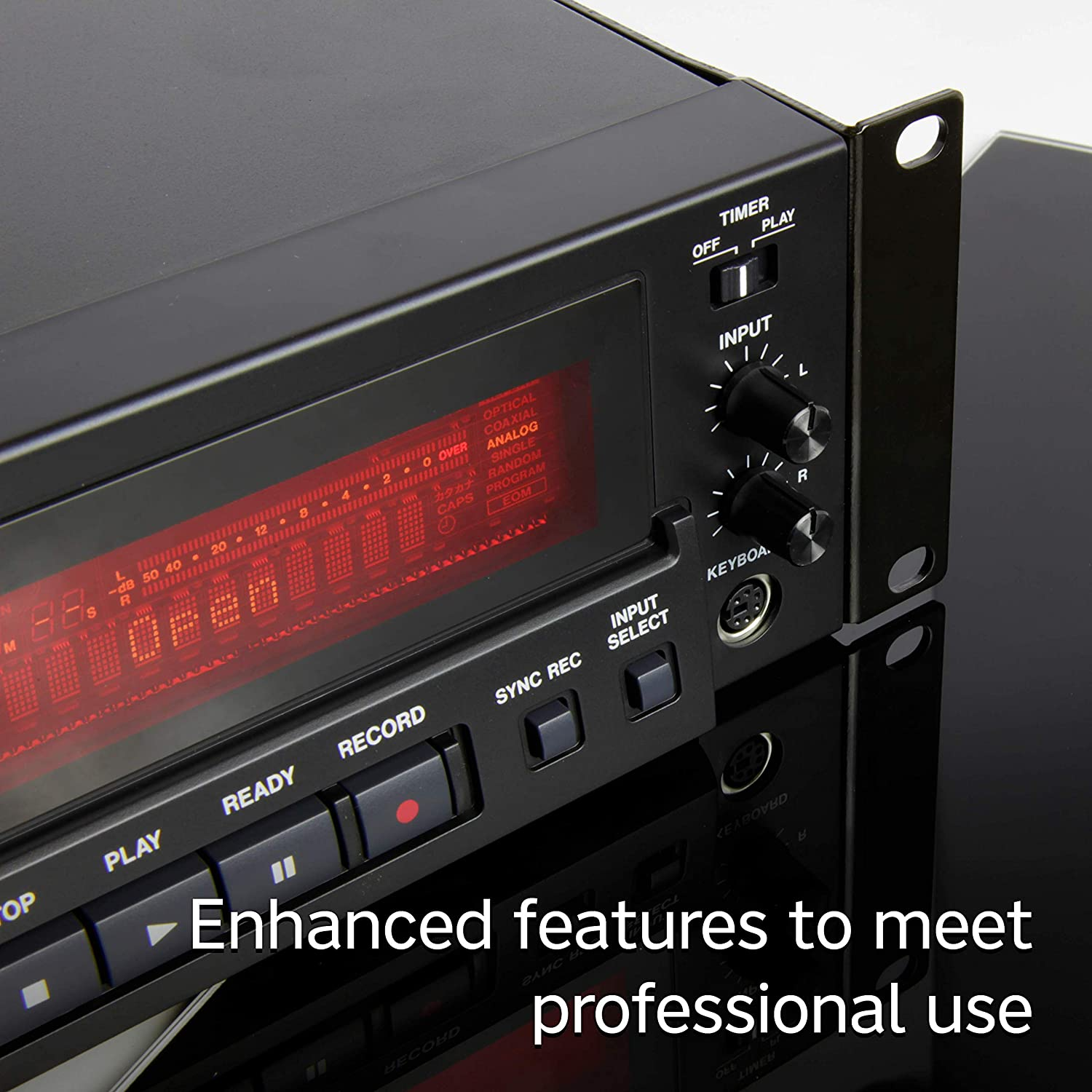 Tascam CD-RW900MKII Professional Rackmount CD Recorder//Player