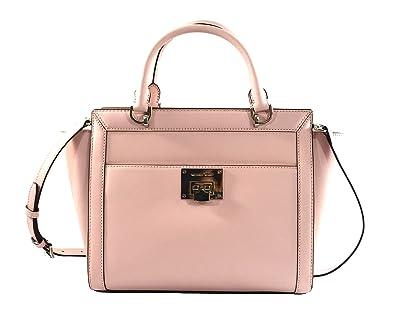 3e05e4cd4eb0 Michael Kors TINA LARGE TOP ZIP Women s Shoulder Handbag SATCHEL (Blossom)