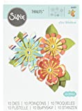 Ellison Sizzix Mix & Match Flowers Thinlits Die Set by Lori Whitlock (10 Pack)
