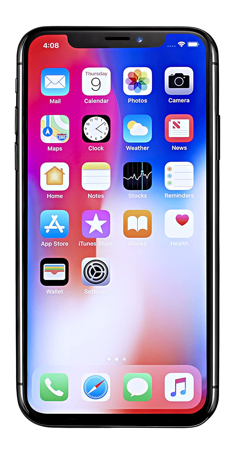 Apple Iphone X Gsm Unlocked 58 256 Gb Space Gray Itunes Gift Card Indonesia 1000000 Cell Phones Accessories