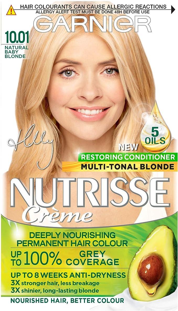 Garnier Nutrisse 10.01 - Tinte para el cabello permanente ...