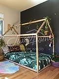 Sweet Home from Wood, letto singolo Montessori, diversi colori, Natural, 190x90
