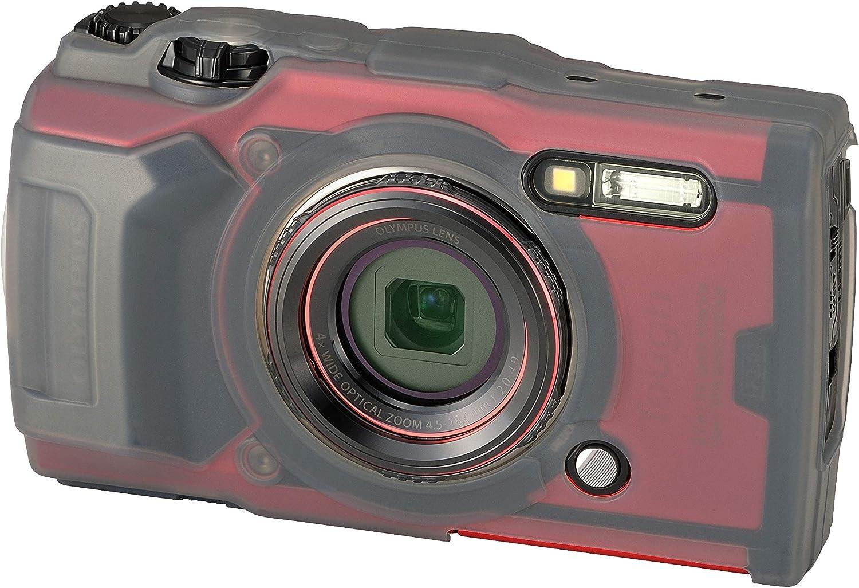 Olympus Csch 127 Silikonmantel Für Tough Tg 6 Kamera