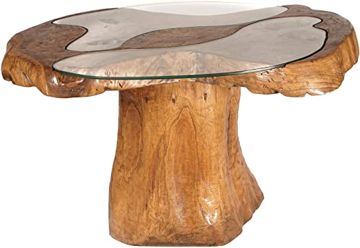 Windalf Design Lucia - Mesa de Comedor (130 cm, con 2 Placas de ...