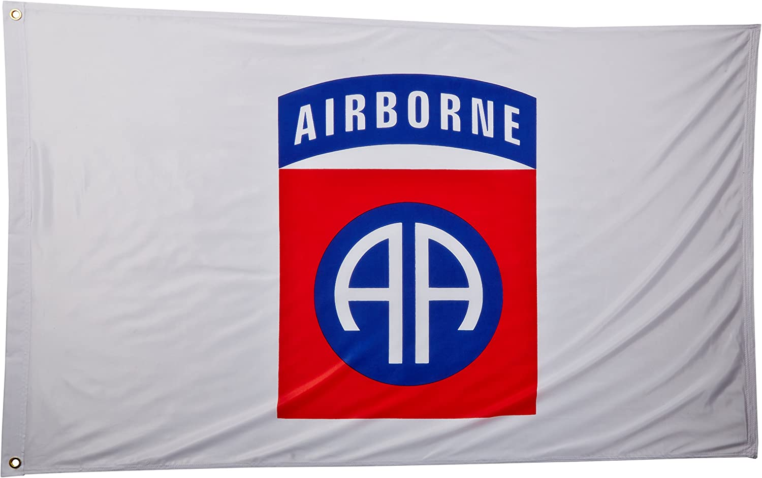 82nd Airborne Super Knit Polyester Flag - 3ft x 5ft - Officially Licensed Product of The U.S. Army
