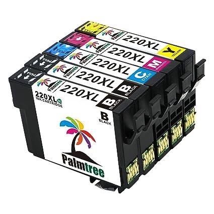 Palmtree Compatible Epson T220 X L Cartuchos de tinta de repuesto ...