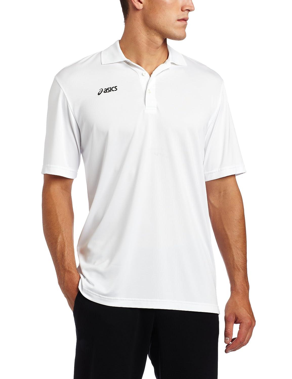 Asics Herren Offizielles Poloshirt, Herren, weiß, Small