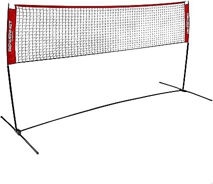 Borlai Durable Badminton Net Portable Foldable Training Badminton Mesh Net Volleyball Net