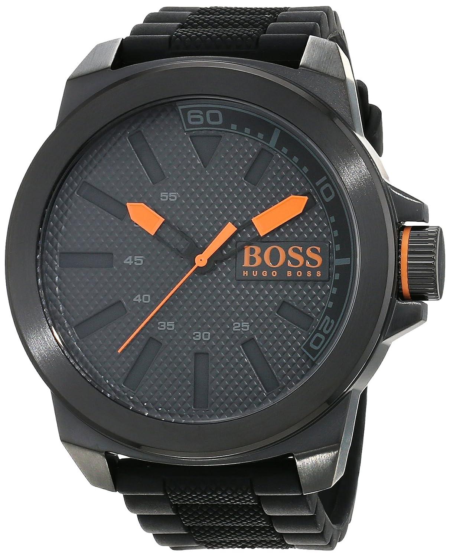 Hugo Boss Orange 1513004 - Reloj analógico de pulsera para hombre, correa de silicona