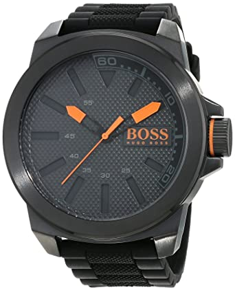 Hugo Boss Orange 1513004 - Reloj analógico de pulsera para hombre, correa de silicona: Hugo Boss Orange: Amazon.es: Relojes