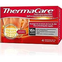 ThermaCare – Patch, selbstwärmend, Rücken – lindert Schmerzen im unteren Rücken – 8 Stunden konstante Wärme – Box mit 4 Rücken-Pads