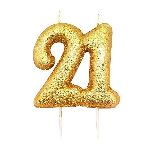 21st Birthday Candles Amazoncouk
