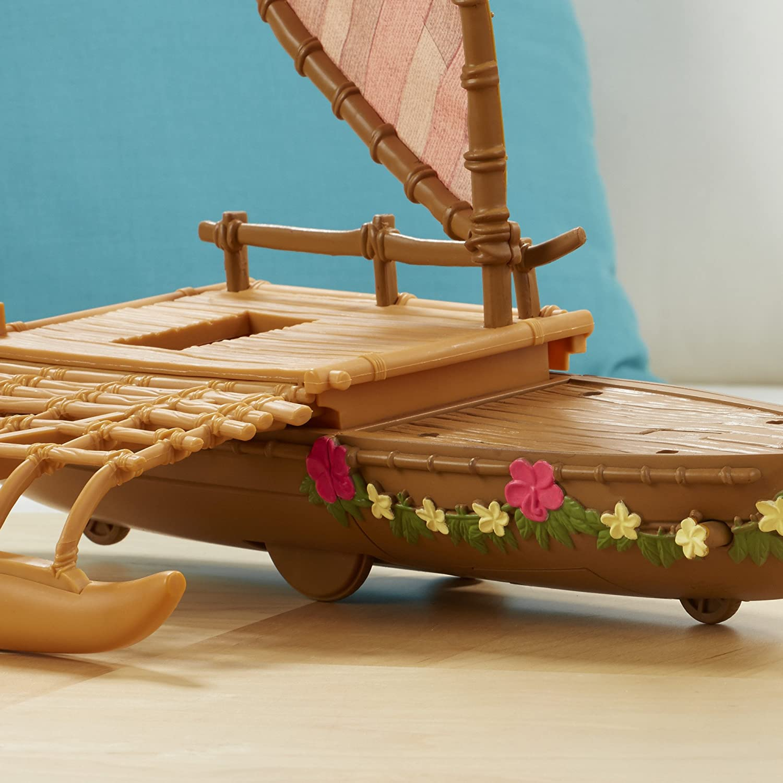Amazon.com: Disney Moana Starlight Canoe and Friends: Toys & Games