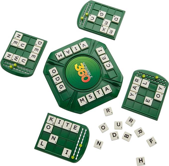Scrabble 360 Board Game [Importación inglesa]: Amazon.es: Juguetes y juegos