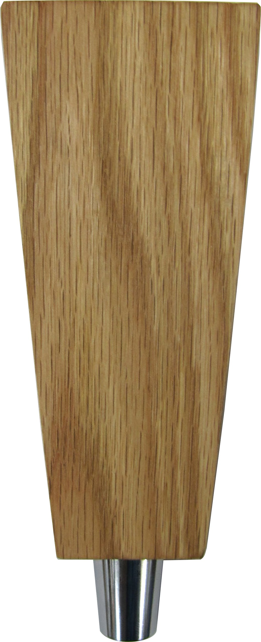 Tapered 6.5'' Solid Red Oak Tap Handle