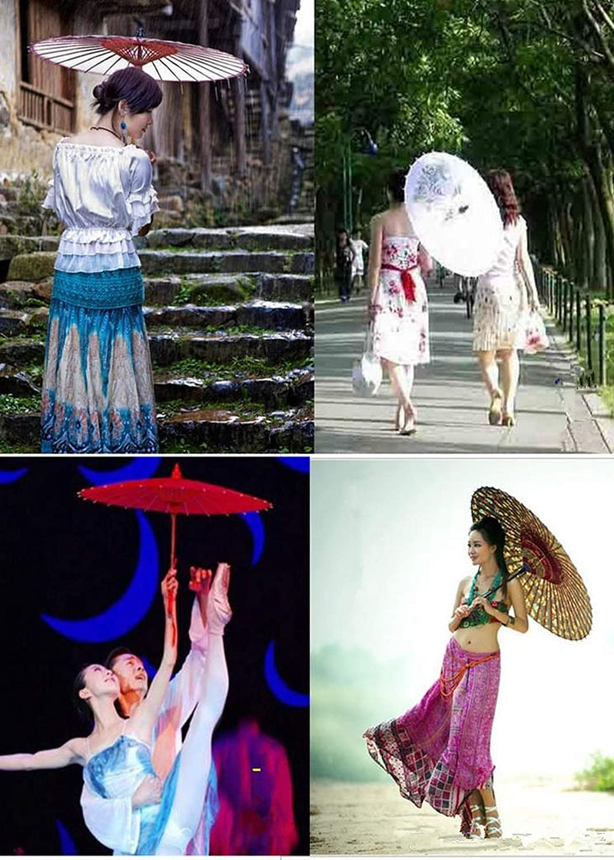 Diy Painting White Paper Umbrellas Bridal Wedding Parasols Chinese Style Mini Craft Umbrella Umbrellas,Black
