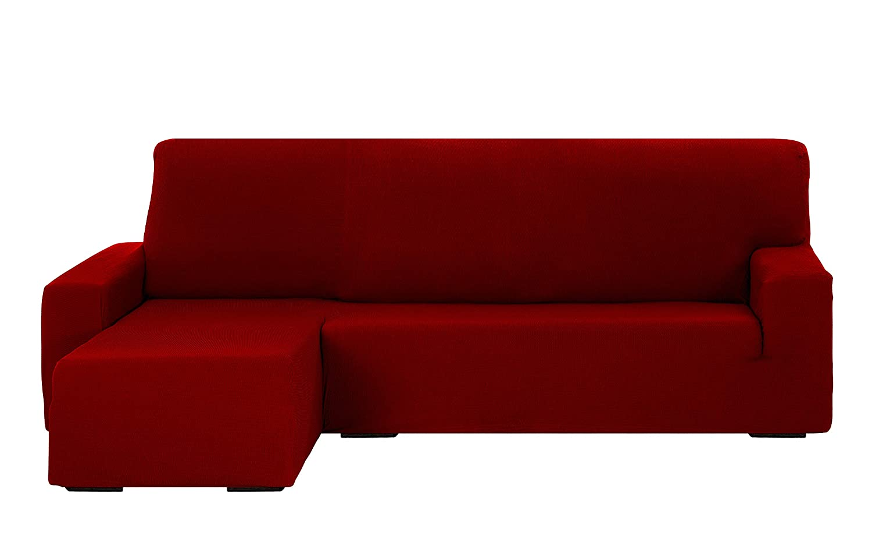 Martina Home Tunez Funda Chaise Longue, Rojo, Brazo Izquierdo Corto: Amazon.es: Hogar