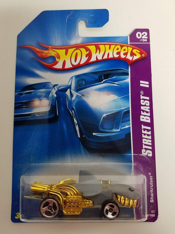 Sharkruiser Street Beast II 2 of 4 Hot Wheels diecast car No. 066