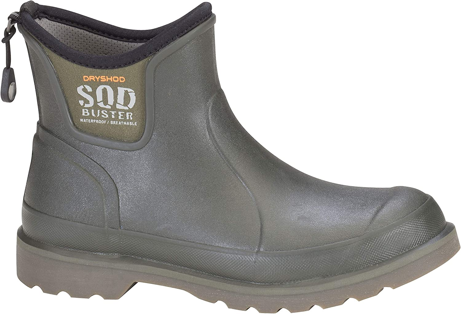 Dryshod Men's Sod Buster Ankle Moss Outdoor and Garden Boot SDB-MA-MS
