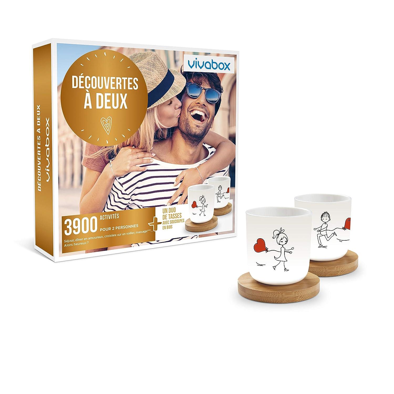 Coffret Deux Cadeau 3900 Vivabox Decouvertes A Couple hQsxdCtr