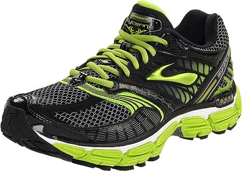 fb7631248da Brooks Men s s Glycerin 9 M Running Shoes White Black Silver Limegreen ...