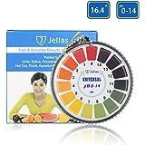 pH Test Strips, Jellas Universal pH Test Paper Strips Roll, pH Measure Range of 0-14 (5M/16ft).