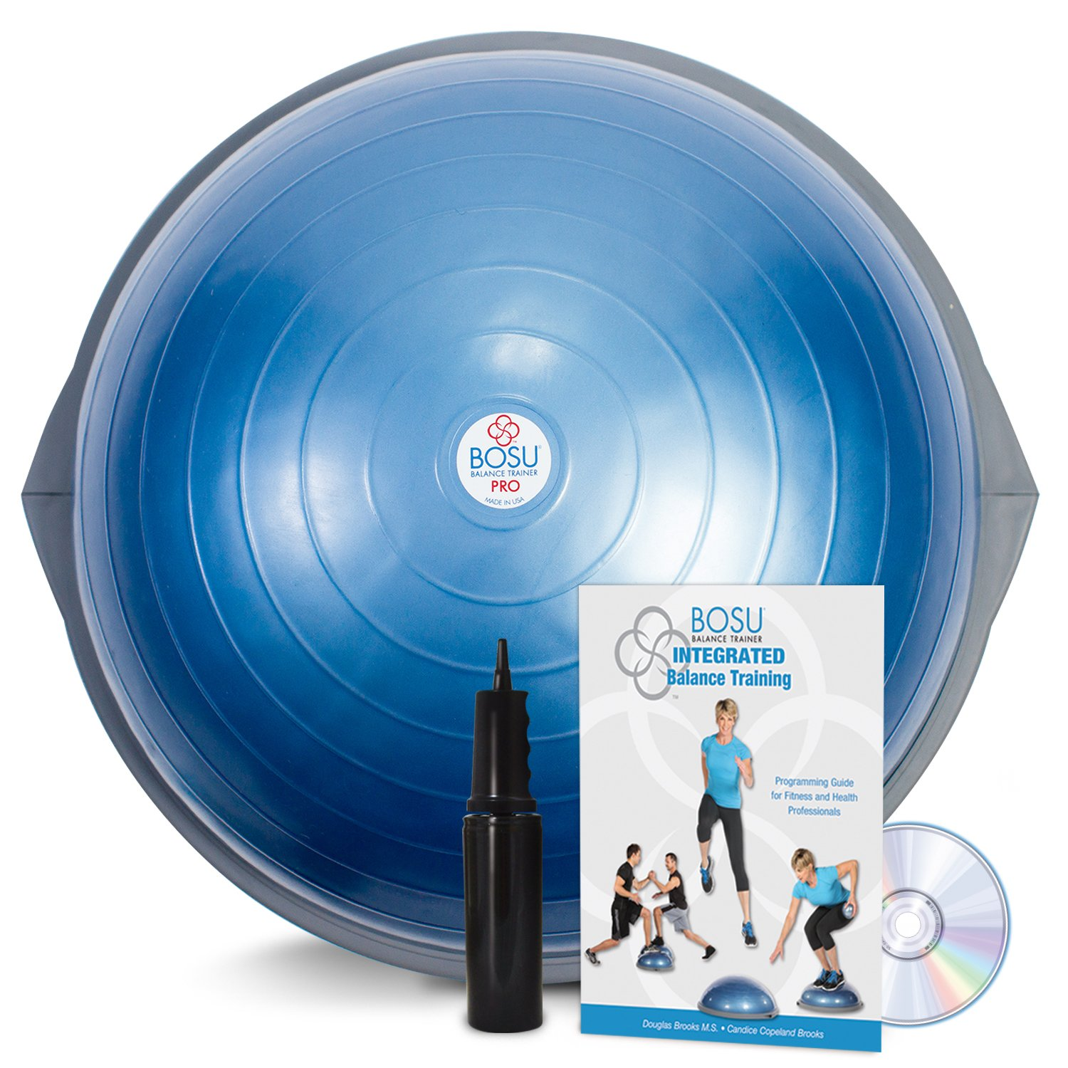 How to Use a BOSU Balance Trainer