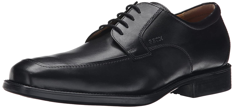 Geox U Federico Y, Zapatos Oxford de Cuero con Cordones para Hombre