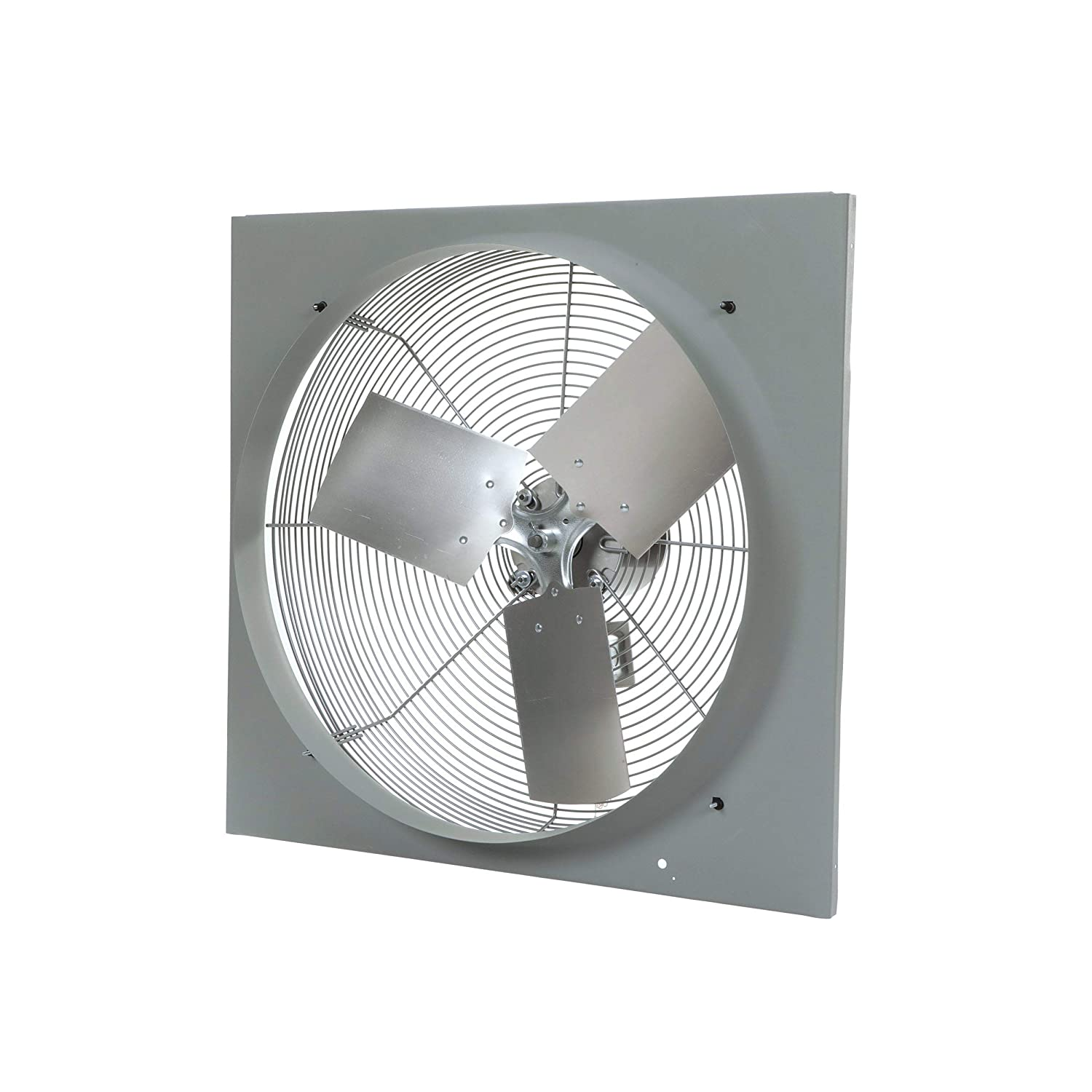 """TPI Corporation CE24-DV Venturi Mounted Direct Drive Wall Exhaust Fan, 24"""" Blade Diameter, 120 Volt, 1/4 HP 2 Speed Motor, Pull Chain Switch, May be Used w/Ext. Shutter"""