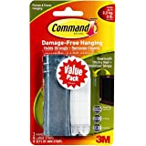 Command Universal Picture Hangers w/Stabilizer Strips DDJYC, 9-Hangers